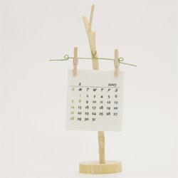 檜(ひのき)カレンダー