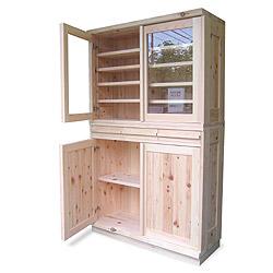 檜 食器棚