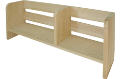 上置き本棚w980 東濃檜(ひのき)板目材