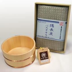 檜(ひのき)のお風呂セット【癒し】(銅タガ)