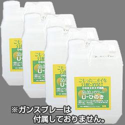 檜(ヒノキ)の香り 森林パワー U-ひのき 2L×4本 (詰替え用)