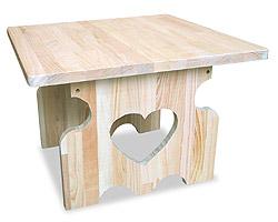 ハートリビングテーブル